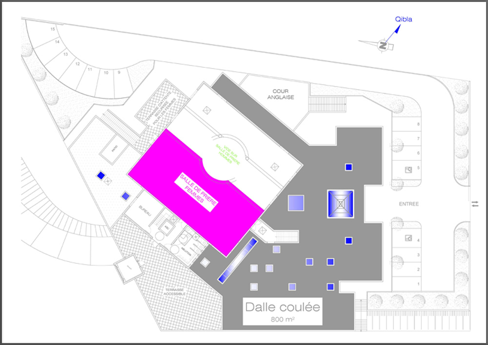 Plan des travaux - 19/02/2013